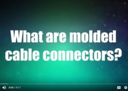 What are molded connectors? A video from Remke and Design World - GO.remke.com