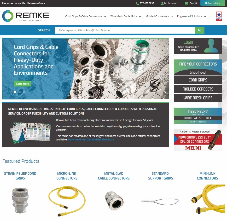 New Remke.com website makes order tracking and ordering easy - GO Remke