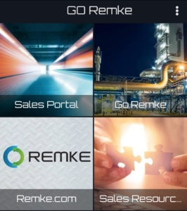 GO Remke App Home Page - GO.Remke.com