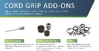 Download the Add-Ons for Cord Grips Infographic from GO.Remke.com