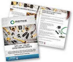 Remke Molded Connectors Tuff Link Brochure
