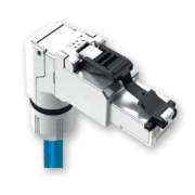 Model #: J0026A4000 RJ45 Ethernet Connector 90 degrees