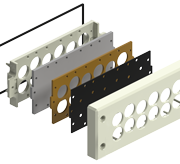 Remke Cable Entry Plates are the ideal solution when you need to manage multiple cables in a small space.